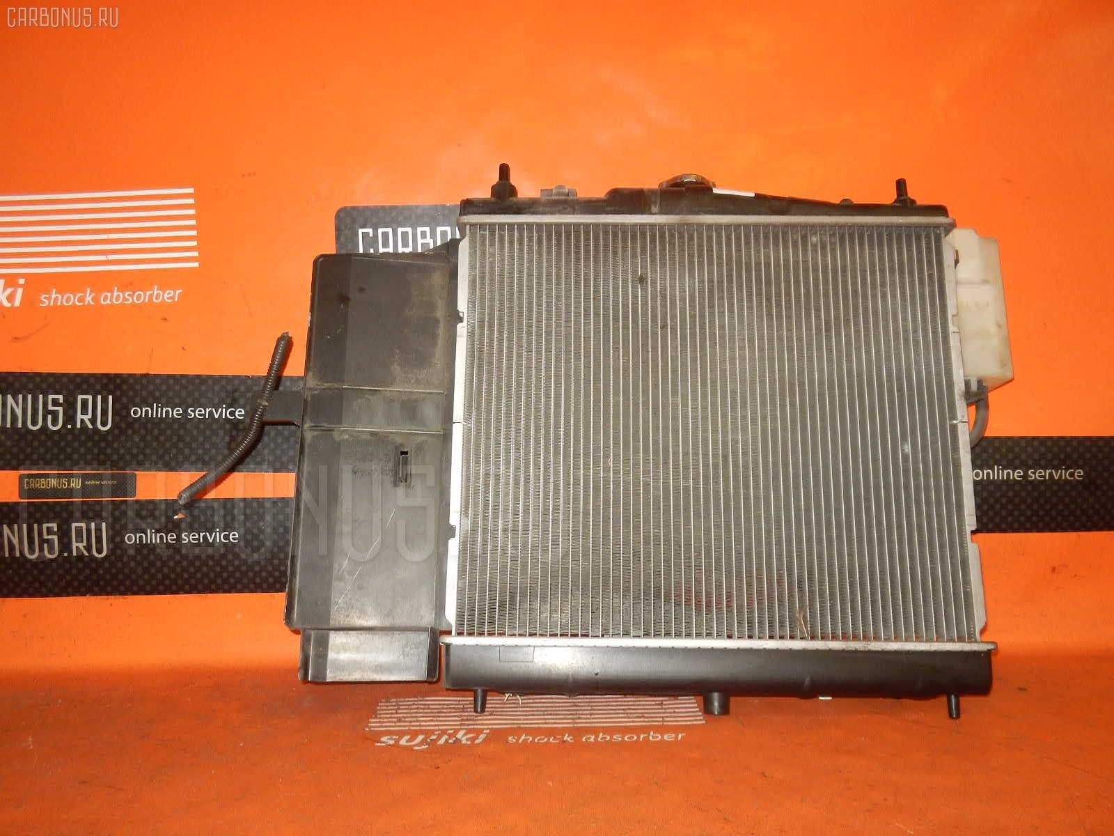 Радиатор ДВС NISSAN MARCH BK12 CR14DE. Фото 7