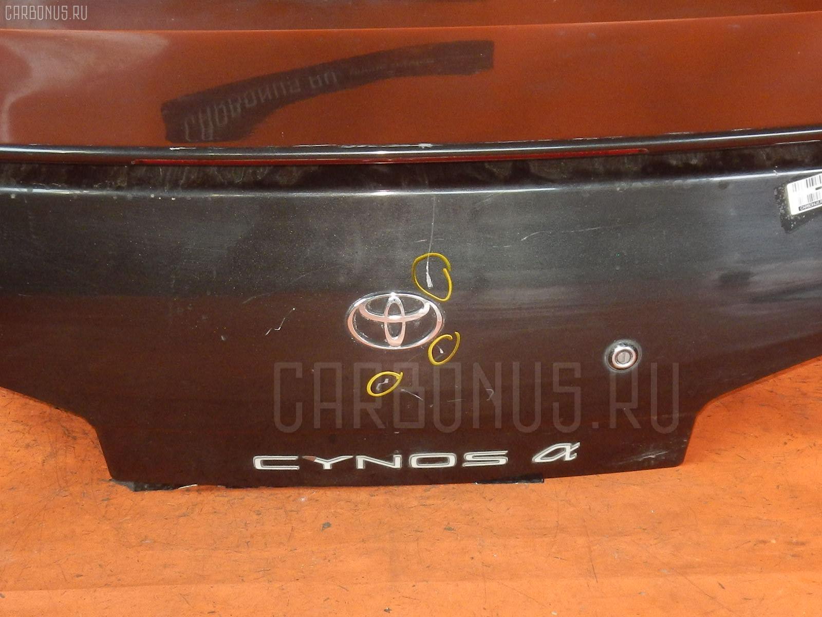 Крышка багажника TOYOTA CYNOS EL44 Фото 3