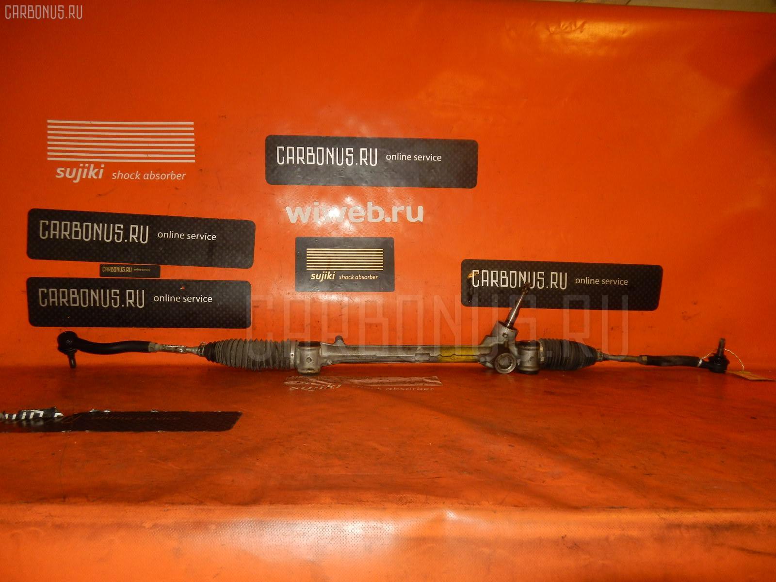 Рулевая рейка TOYOTA VITZ KSP90 1KR-FE. Фото 3