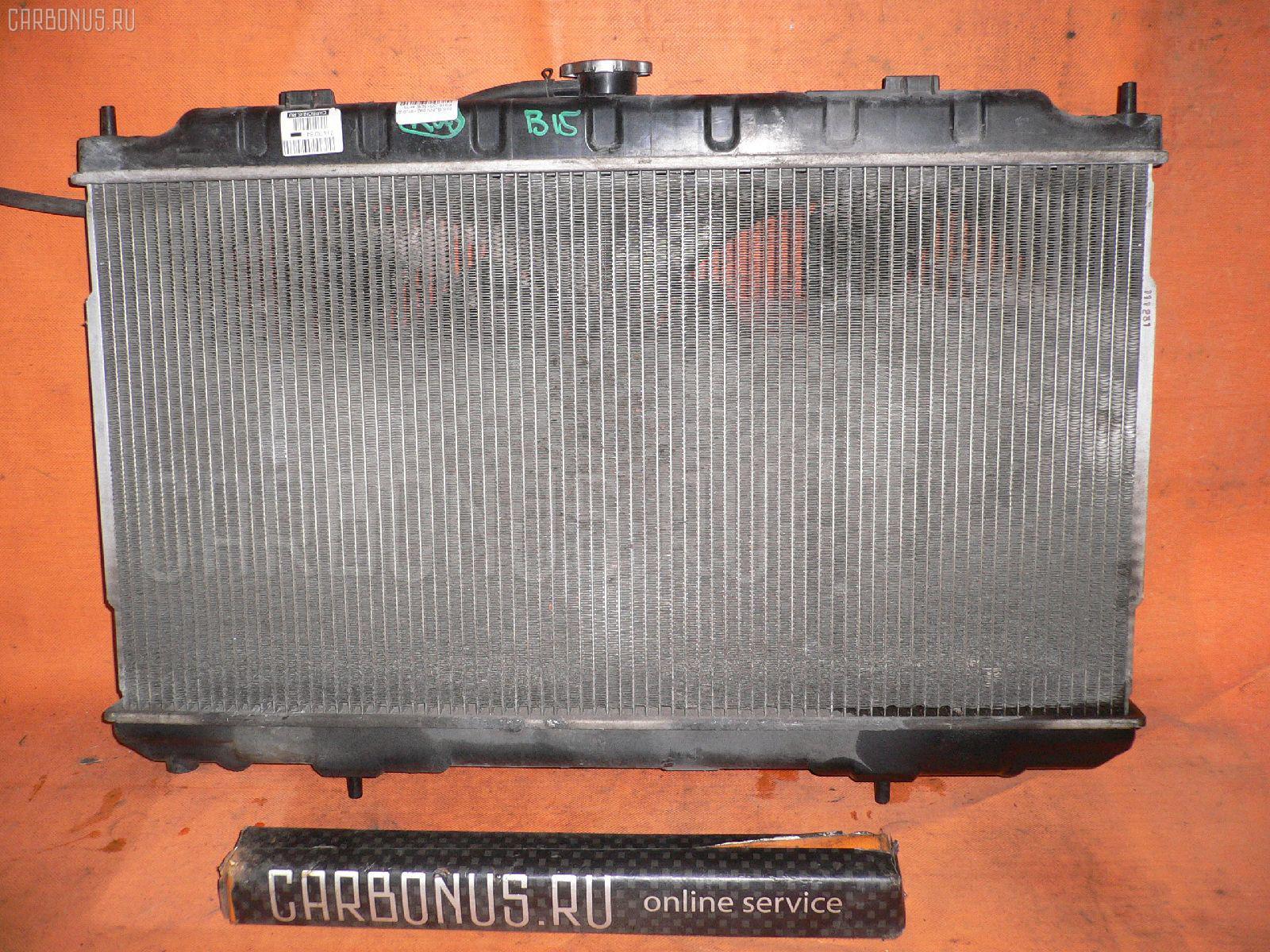 Радиатор ДВС Nissan Sunny FB15 QG15DE Фото 1