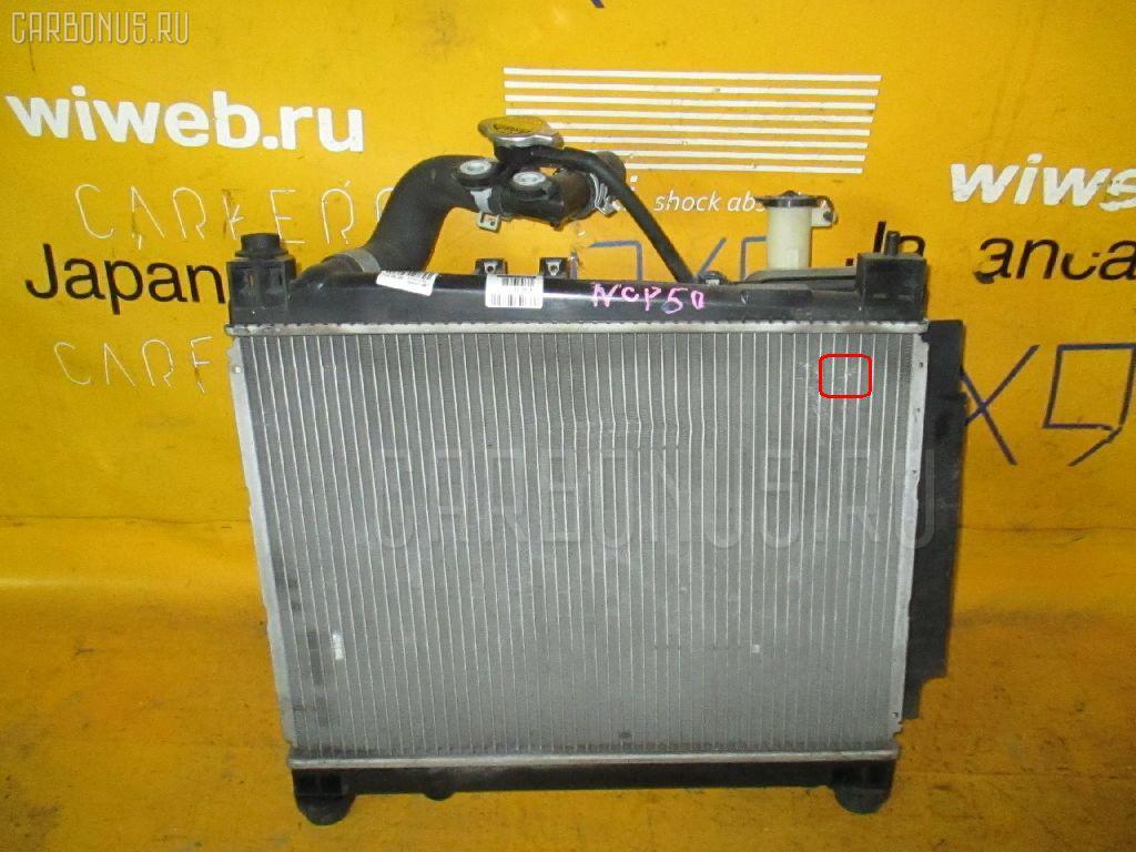 Радиатор ДВС TOYOTA PROBOX NCP51V 1NZ-FE Фото 2