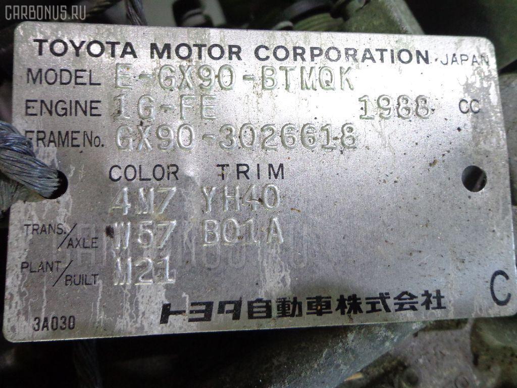 КПП механическая TOYOTA CHASER GX90 1G-FE Фото 1