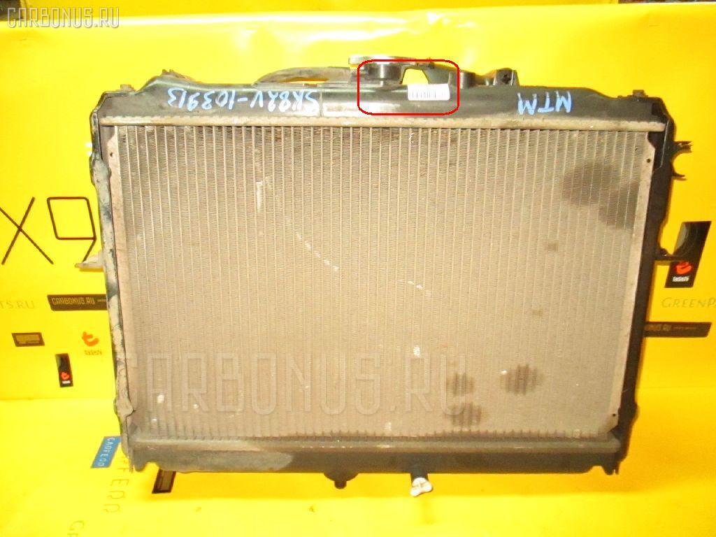 Радиатор ДВС MAZDA BONGO SK82V F8. Фото 11