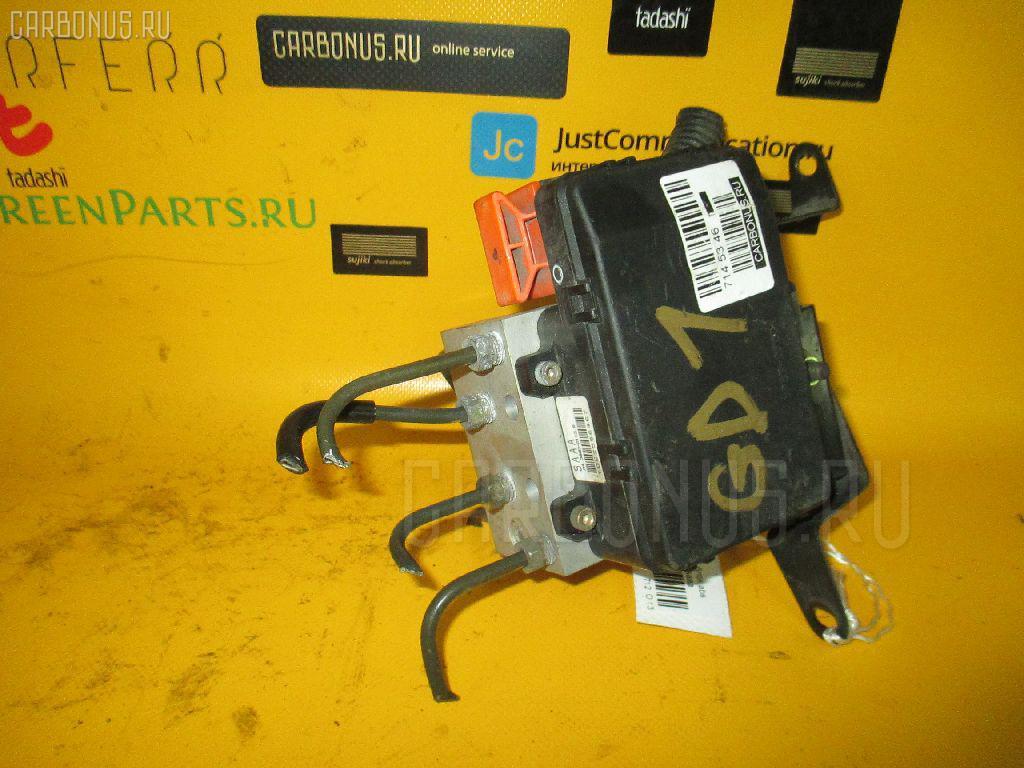 Блок ABS HONDA FIT GD1 L13A. Фото 10