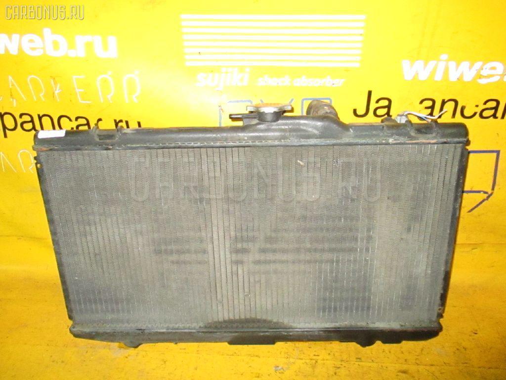 Радиатор ДВС TOYOTA RAUM EXZ10 5E-FE. Фото 10