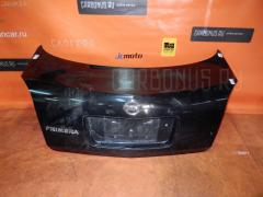 Крышка багажника NISSAN PRIMERA TP12 Фото 1