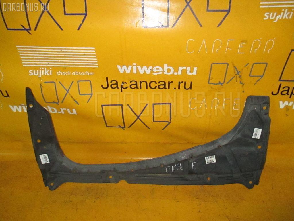 Защита двигателя NISSAN NOTE E11 HR15DE. Фото 9