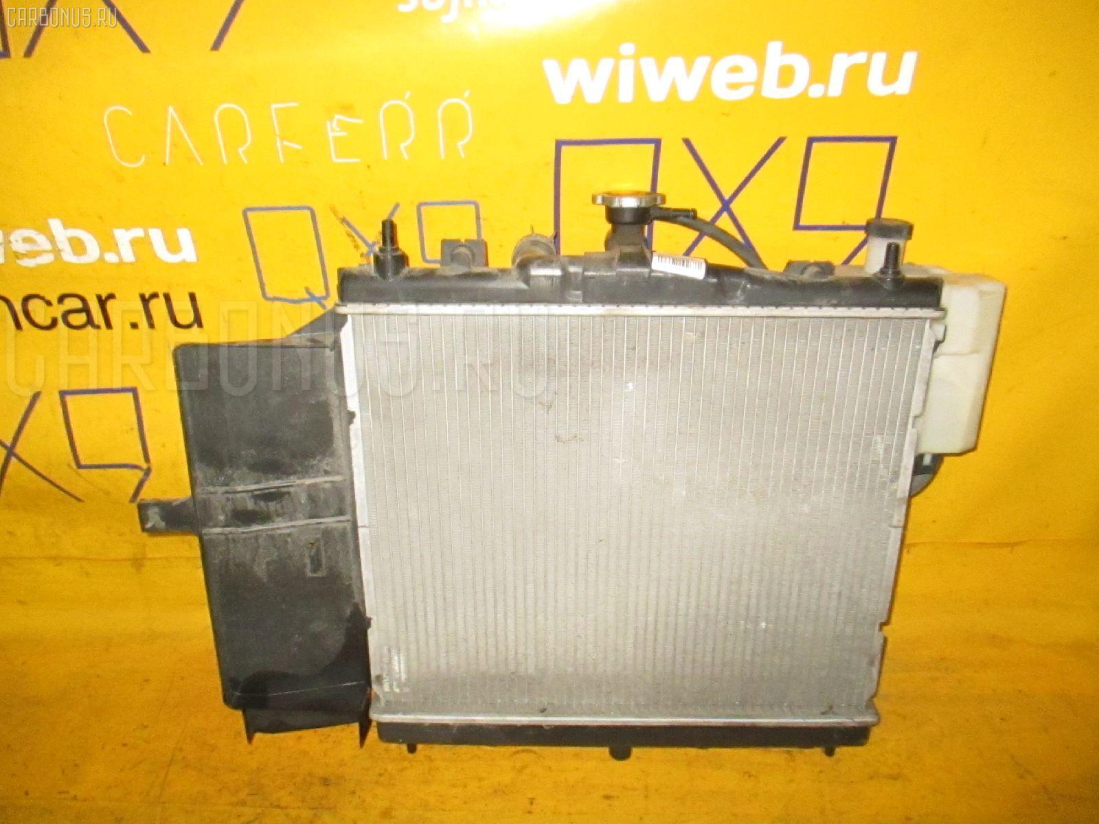 Радиатор ДВС NISSAN MARCH K12 CR10DE. Фото 5