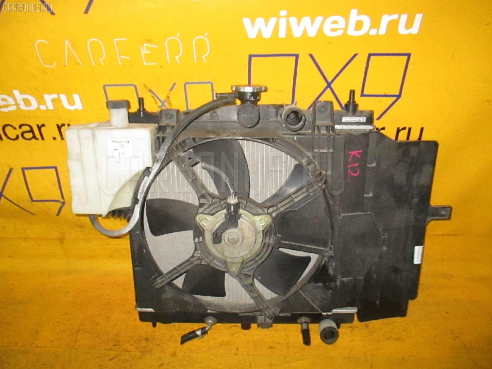 Радиатор ДВС NISSAN MARCH K12 CR10DE. Фото 6