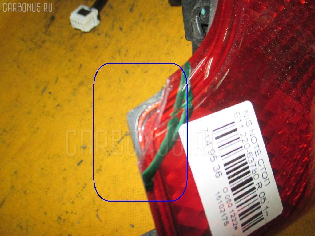 Стоп Nissan Note E11 Фото 1