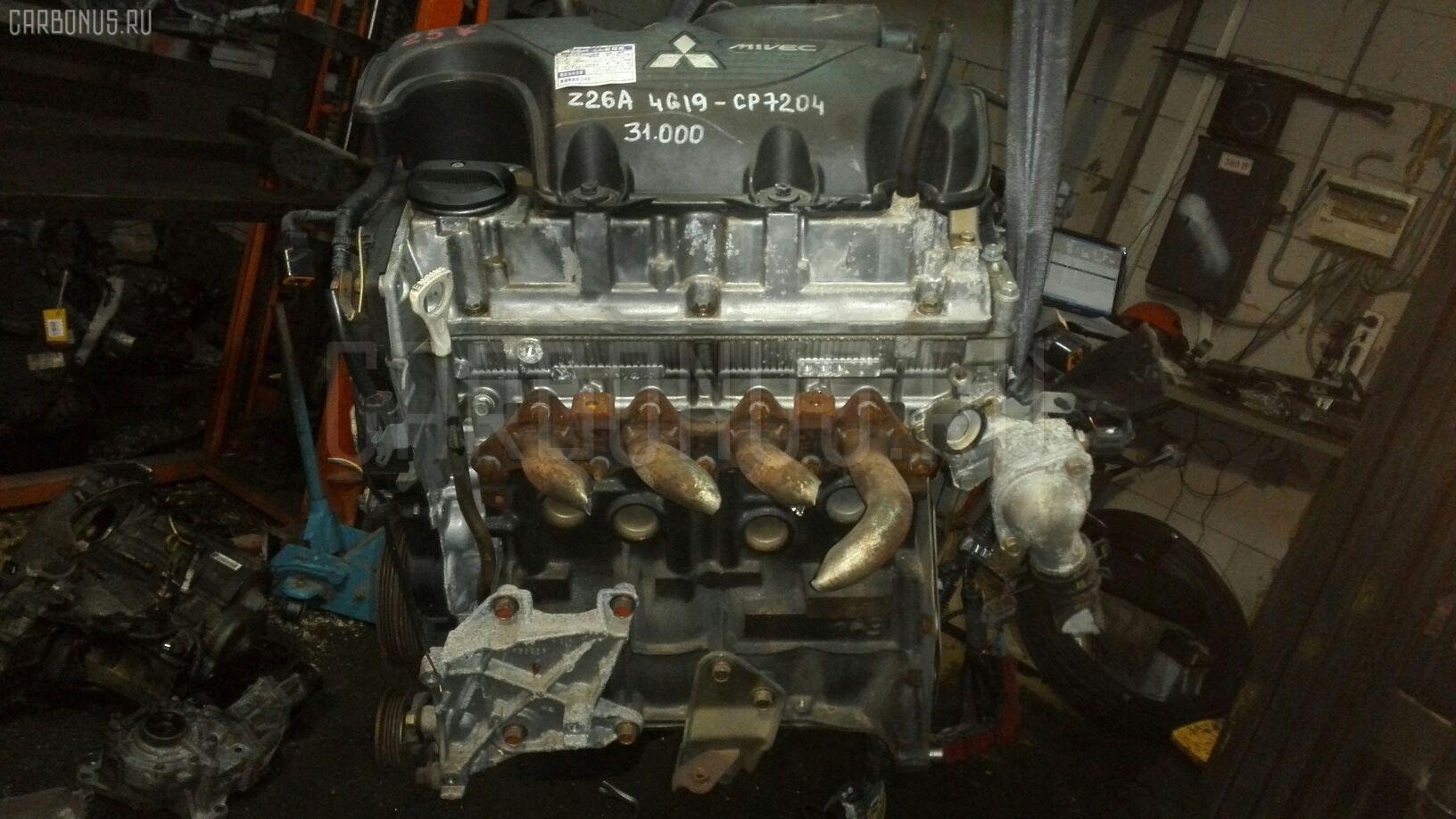 Двигатель MITSUBISHI COLT Z26A 4G19 Фото 2