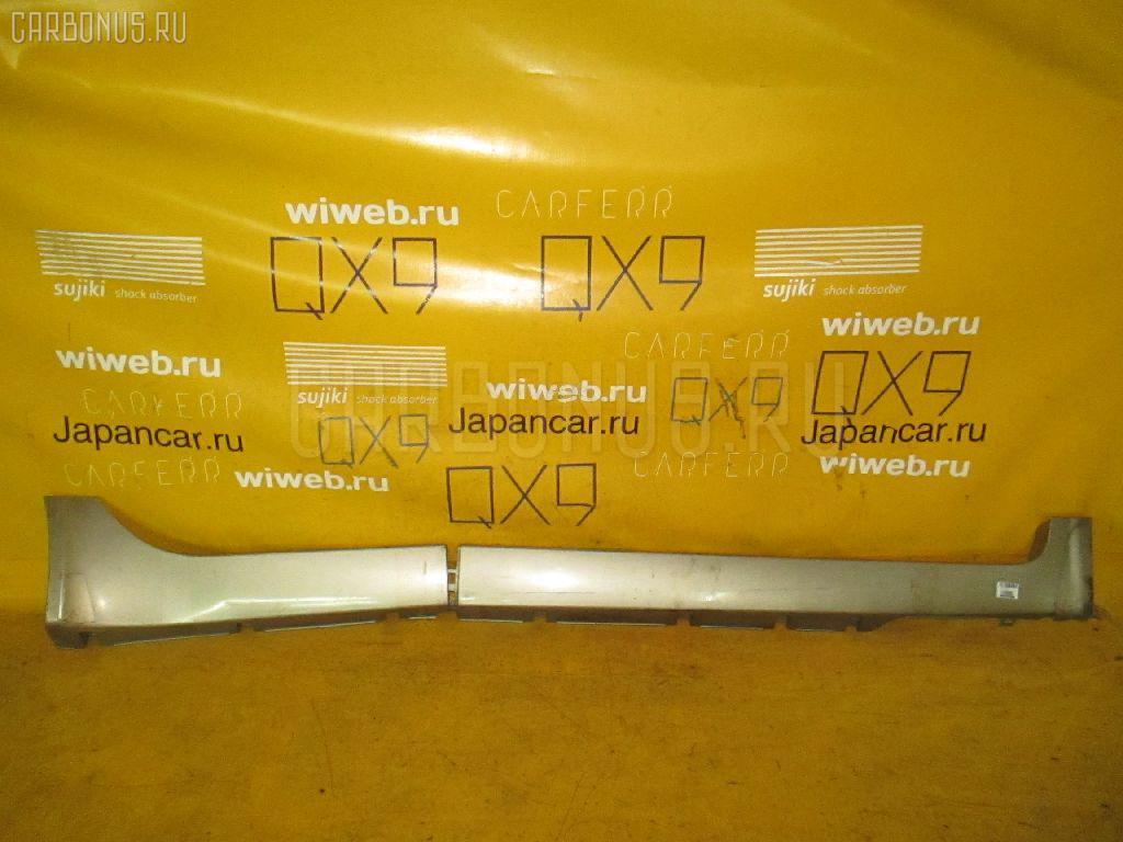 Порог кузова пластиковый ( обвес ) NISSAN PRIMERA WAGON WTP12. Фото 3