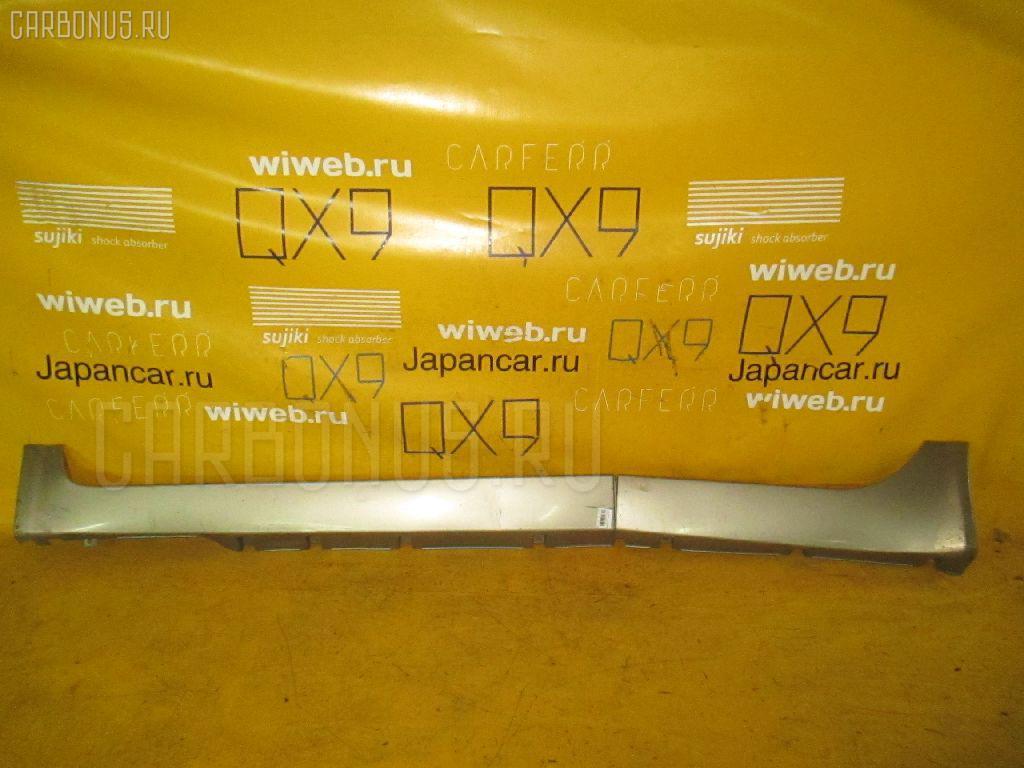 Порог кузова пластиковый ( обвес ) NISSAN PRIMERA WAGON WTP12. Фото 4