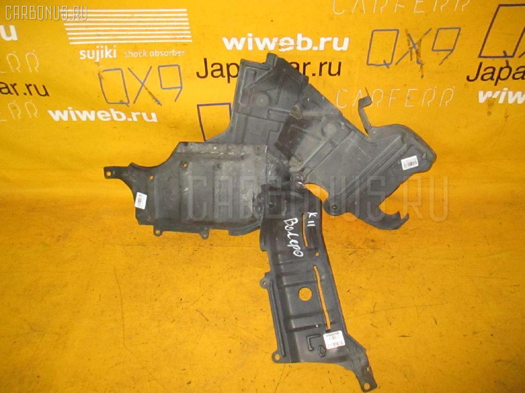 Защита двигателя NISSAN MARCH K11 CG10DE. Фото 8