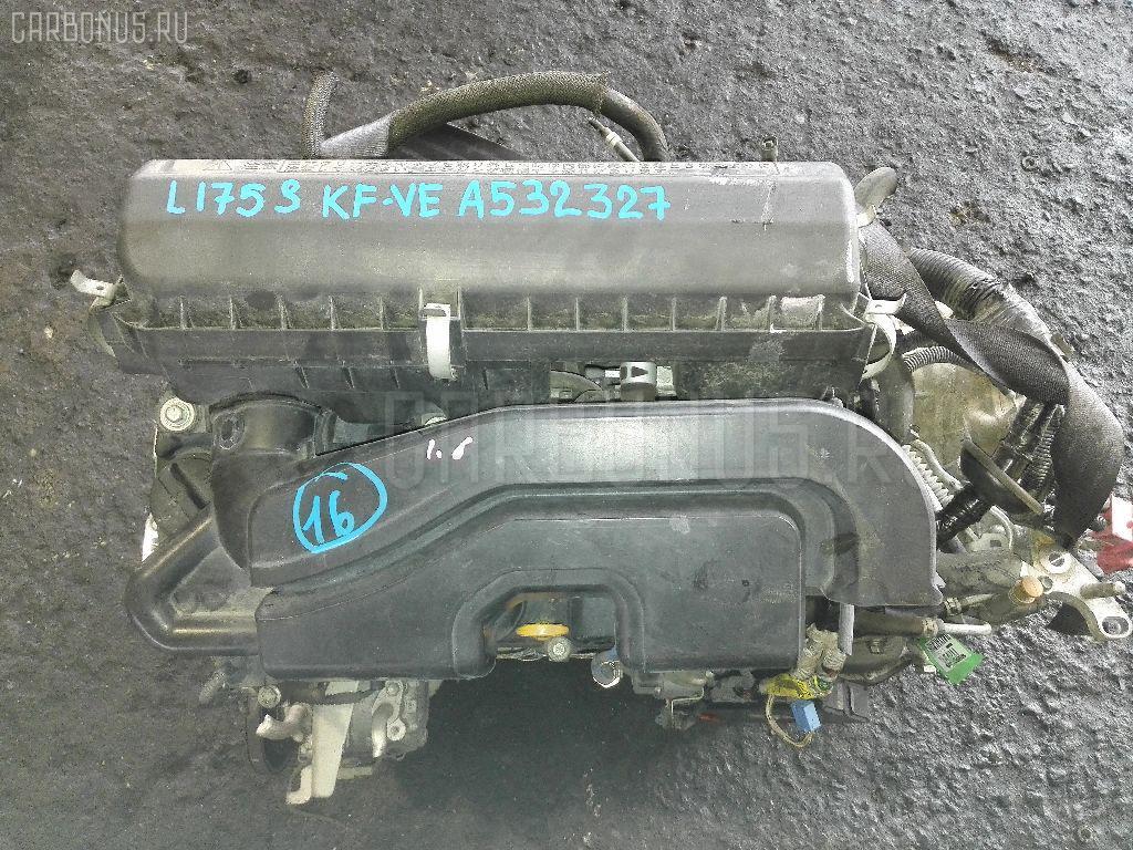 Двигатель DAIHATSU MOVE L175S KF-VE. Фото 9