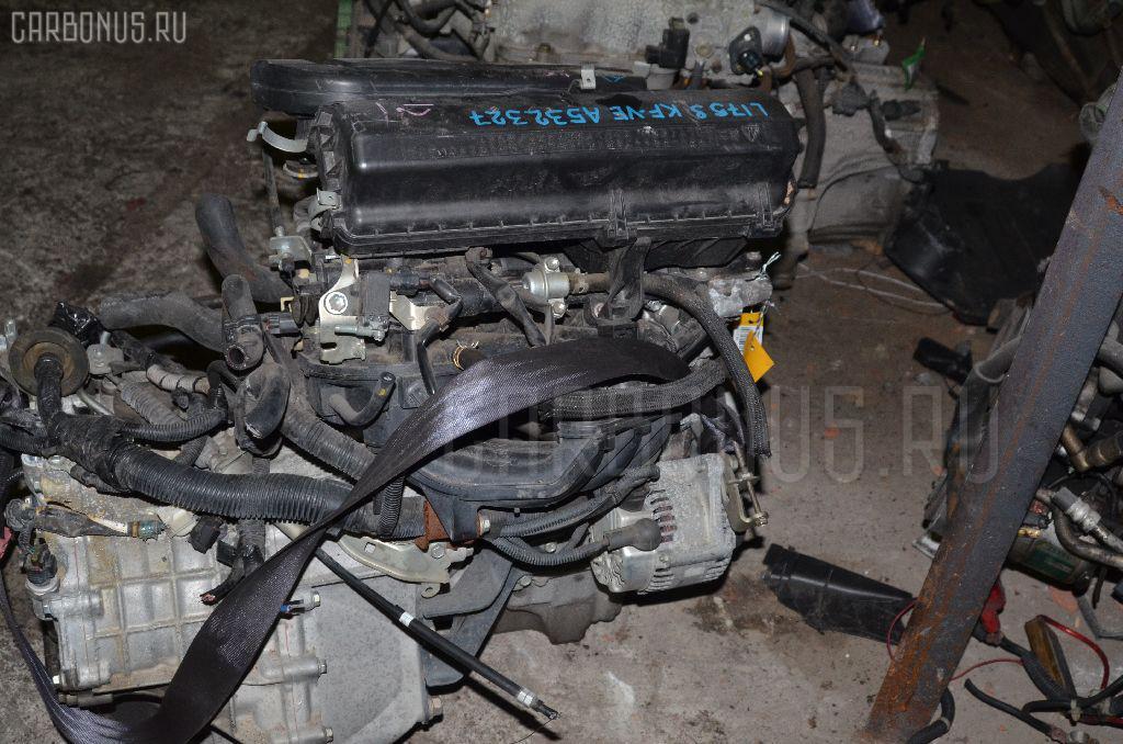 Двигатель DAIHATSU MOVE L175S KF-VE. Фото 6