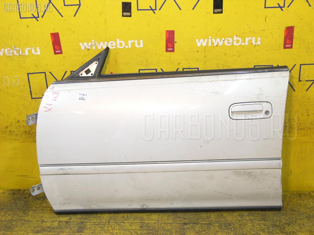 Дверь боковая TOYOTA MARK II JZX100. Фото 4