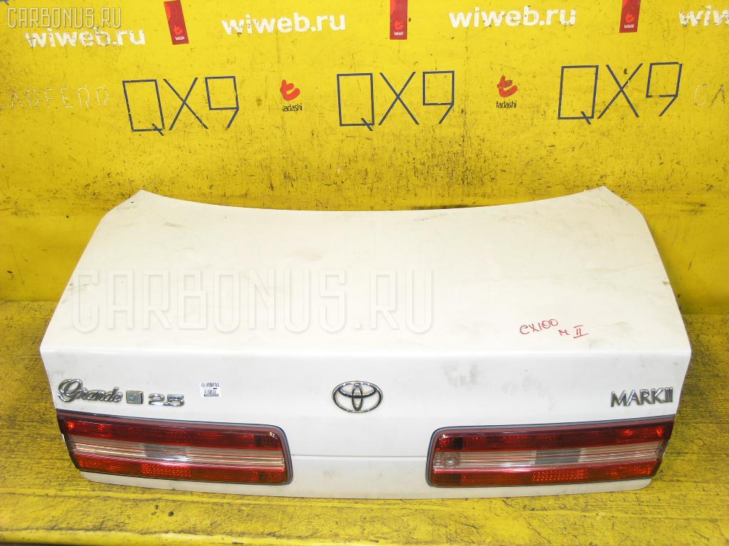 Крышка багажника TOYOTA MARK II JZX100. Фото 1