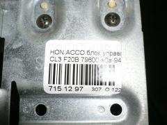 Блок управления климатконтроля Honda Accord CL3 F20B Фото 4