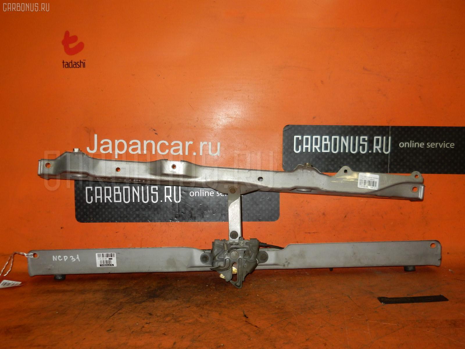 Планка телевизора Toyota Bb NCP31 Фото 1