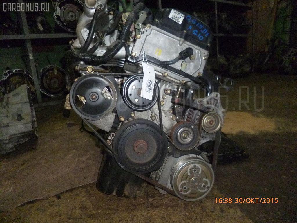 Двигатель NISSAN BLUEBIRD SYLPHY FG10 QG15DE Фото 15
