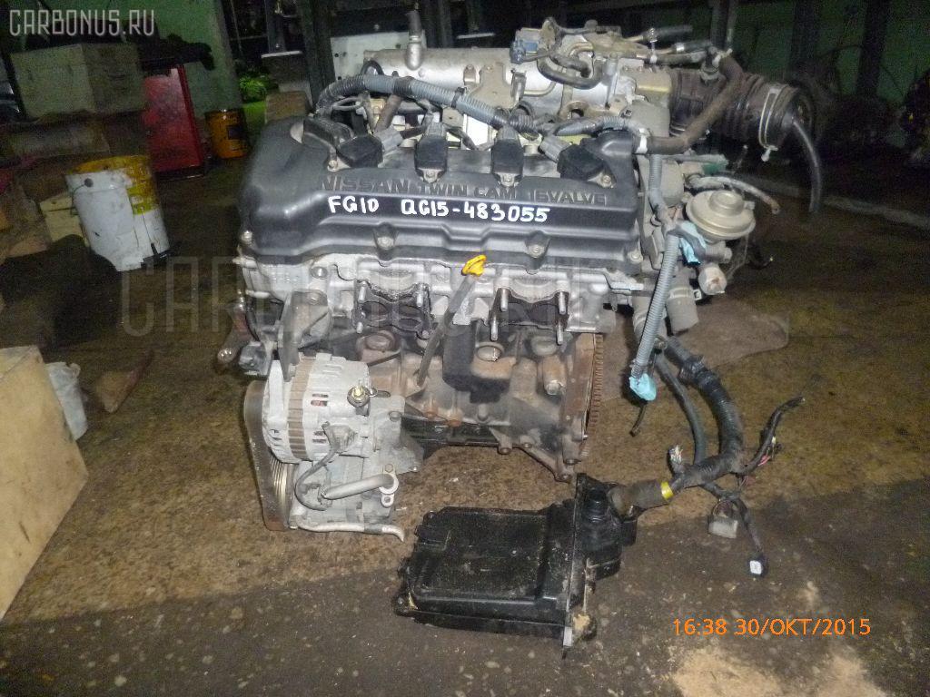 Двигатель NISSAN BLUEBIRD SYLPHY FG10 QG15DE Фото 16