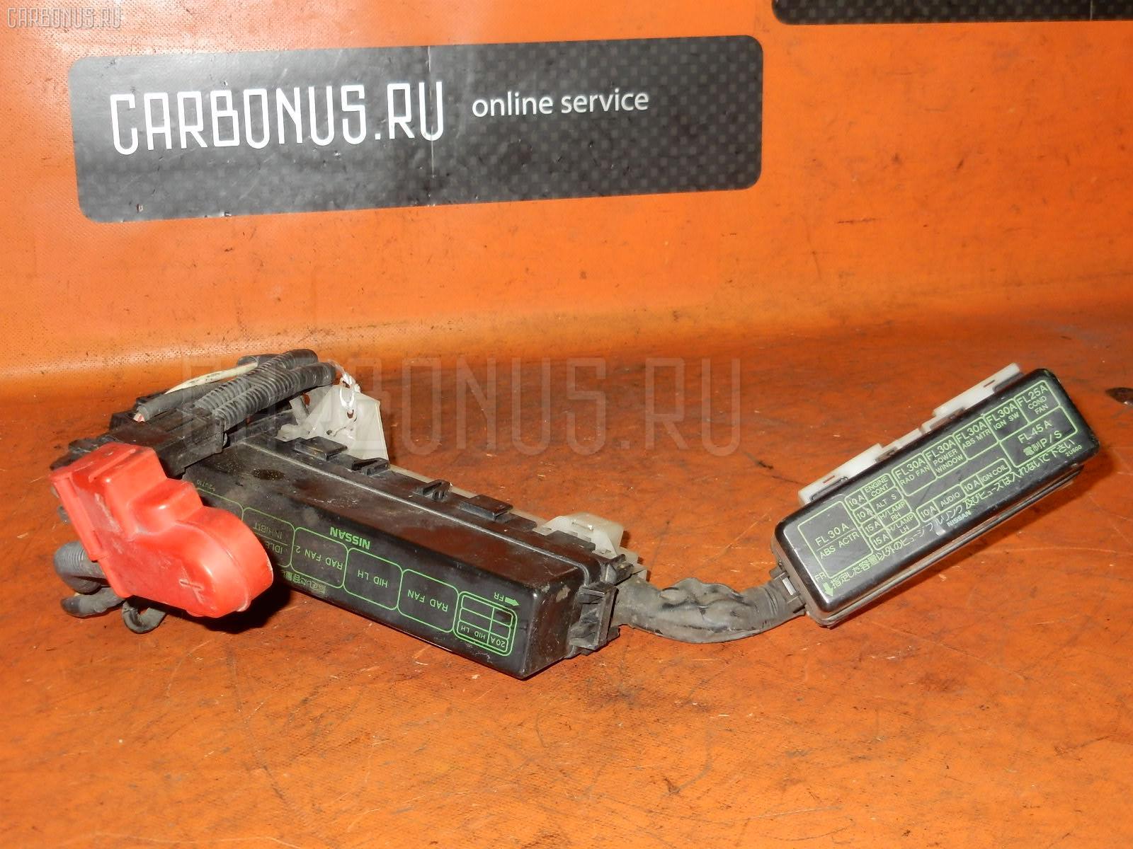 Блок предохранителей NISSAN CUBE AZ10 CGA3DE. Фото 9