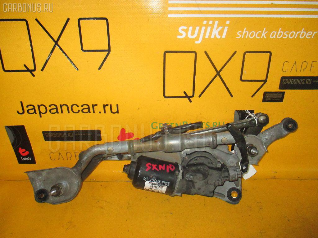 Мотор привода дворников TOYOTA NADIA SXN10. Фото 8