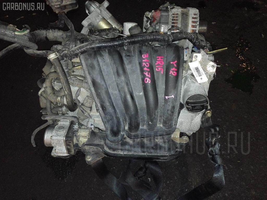 Двигатель Nissan Wingroad Y12 HR15DE Фото 1