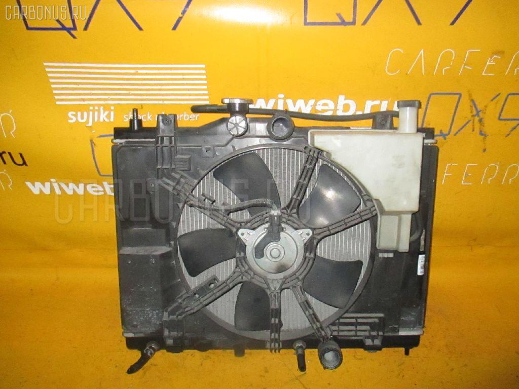 Радиатор ДВС NISSAN WINGROAD Y12 HR15DE. Фото 6