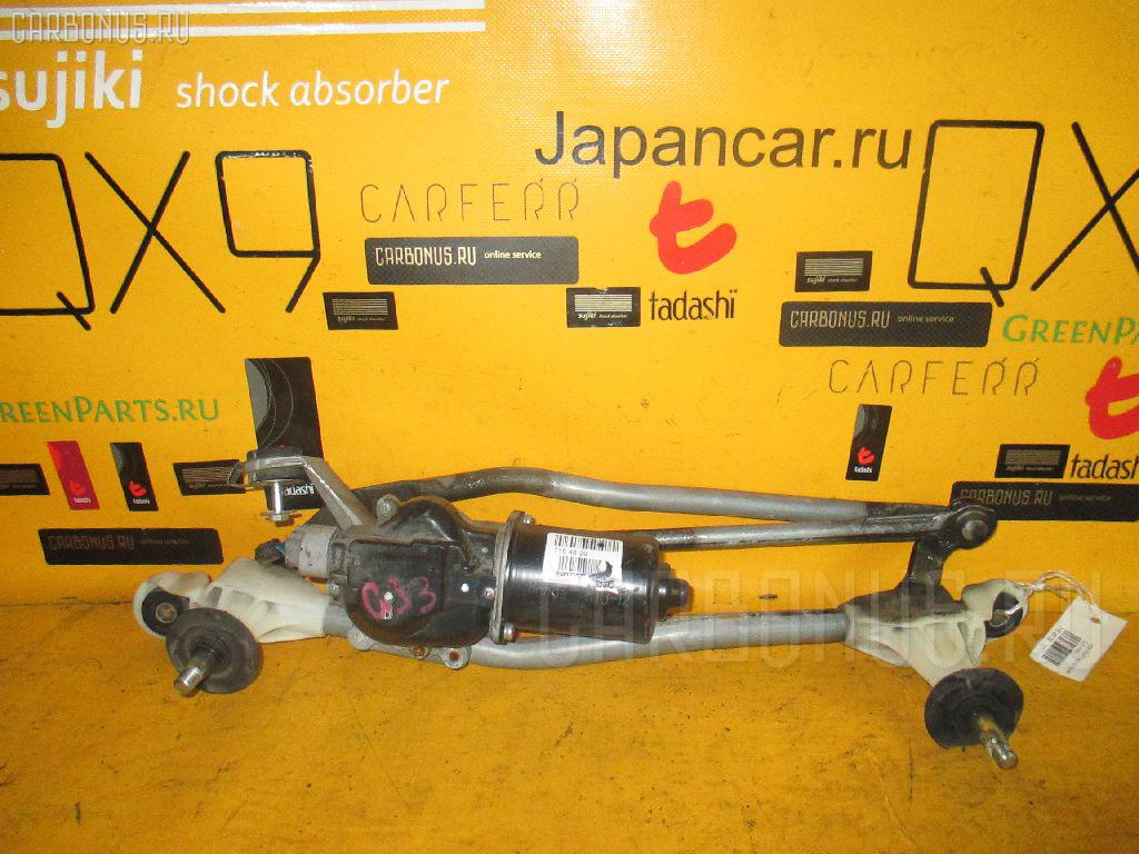 Мотор привода дворников HONDA PARTNER GJ3 Фото 2