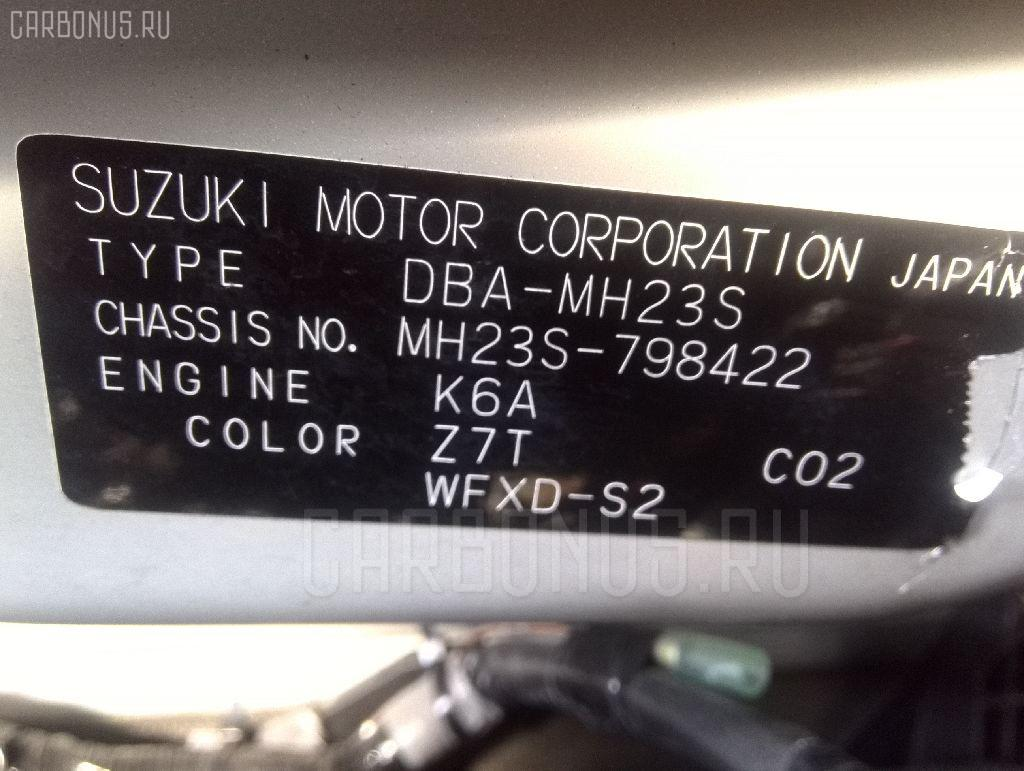 Двигатель SUZUKI WAGON R MH23S K6A Фото 9