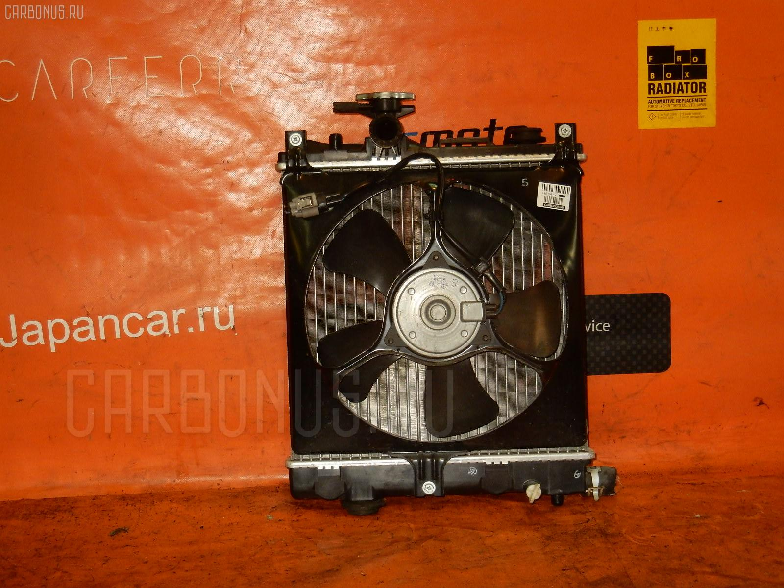 Радиатор ДВС SUZUKI WAGON R MH23S Фото 3