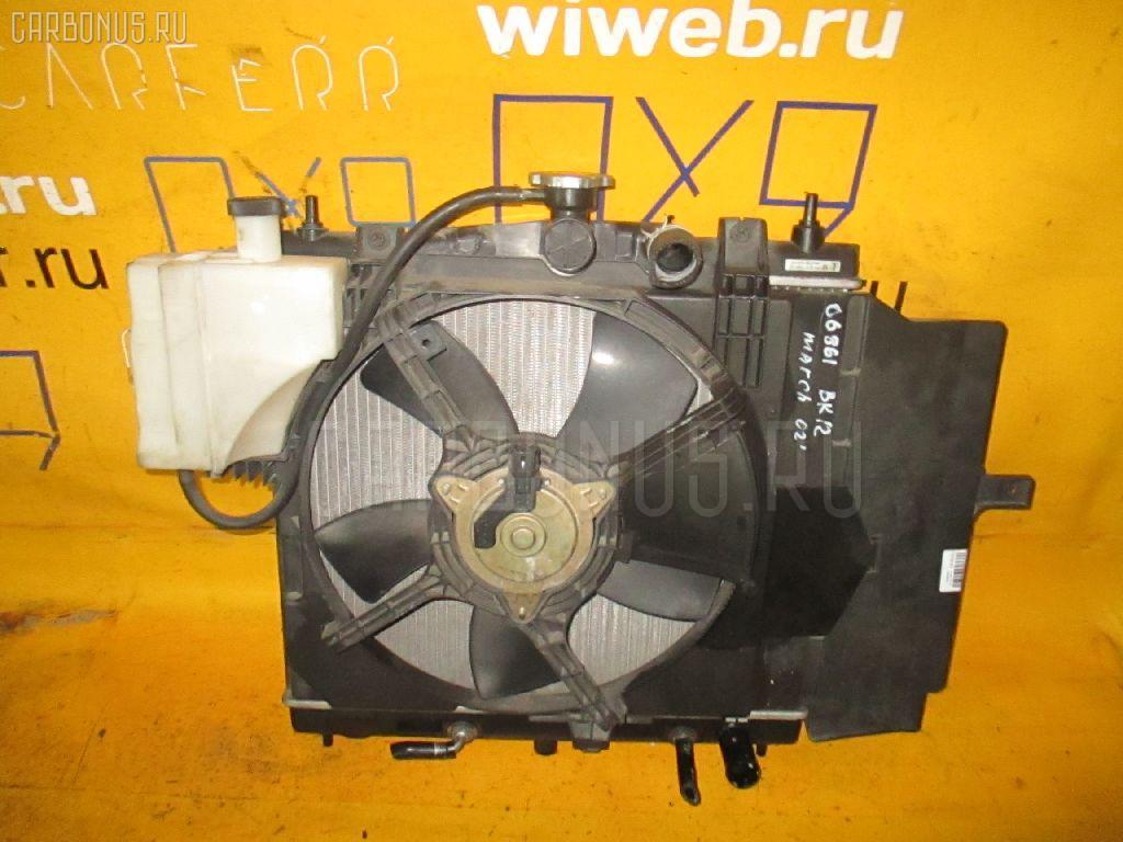 Радиатор ДВС NISSAN MARCH BK12 CR14DE. Фото 5