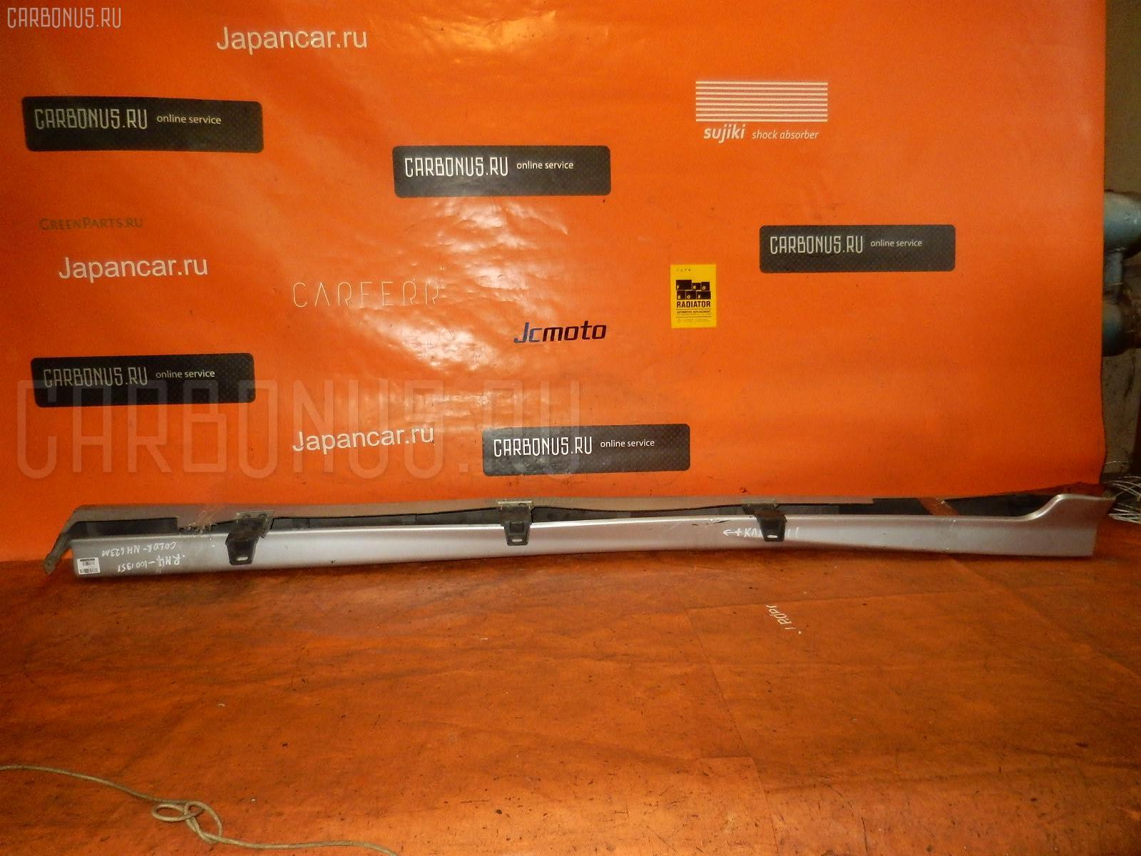 Порог кузова пластиковый ( обвес ) HONDA STREAM RN4. Фото 10