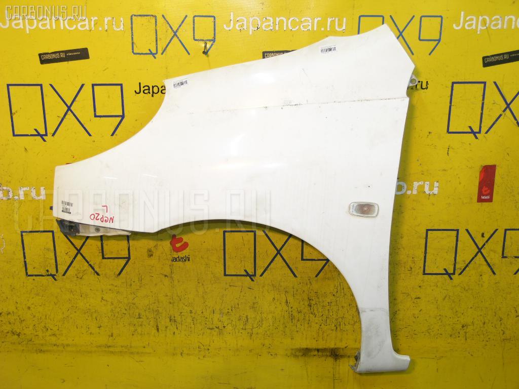 Крыло переднее TOYOTA FUN CARGO NCP20. Фото 11