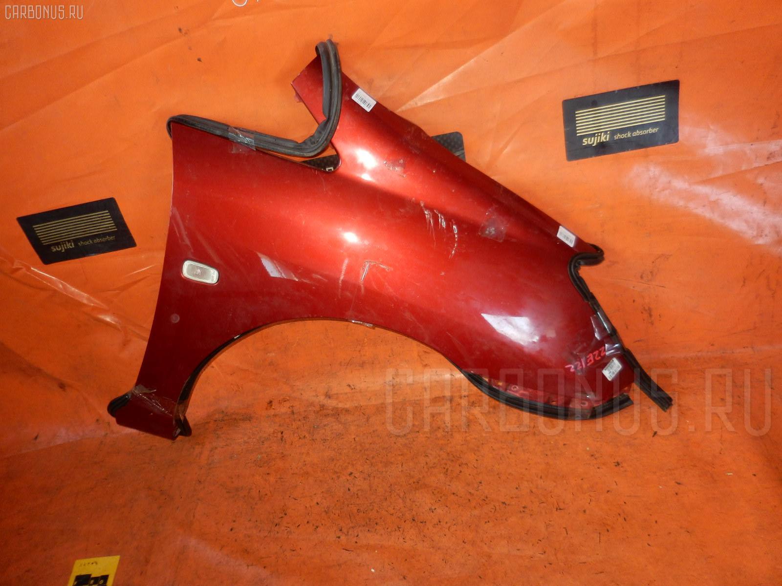 Крыло переднее TOYOTA COROLLA SPACIO ZZE122N. Фото 3