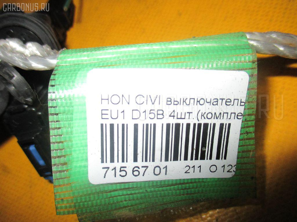 Выключатель концевой HONDA CIVIC EU1 D15B Фото 2