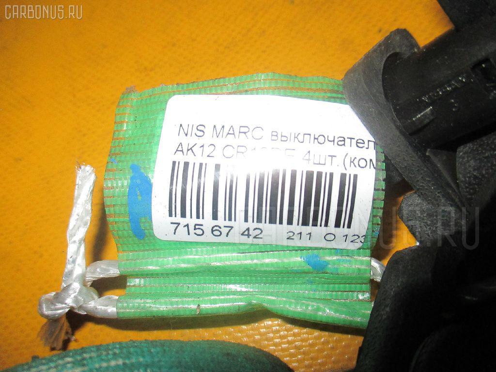 Выключатель концевой NISSAN MARCH AK12 CR12DE Фото 2