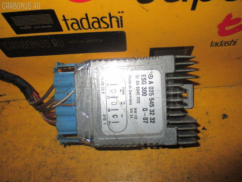 Блок управления вентилятором MERCEDES-BENZ A-CLASS W168.033 166.960. Фото 6