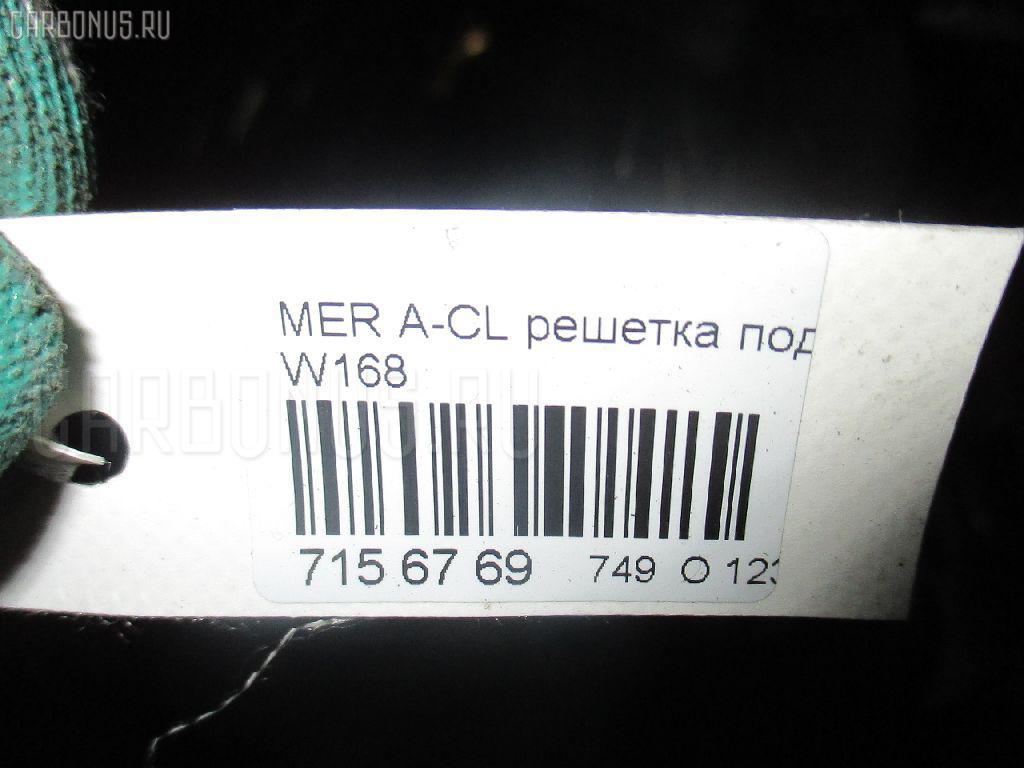 Решетка под лобовое стекло MERCEDES-BENZ A-CLASS W168.033 Фото 3