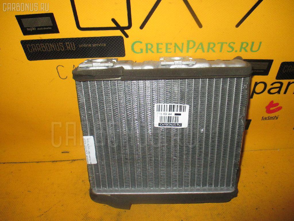 Радиатор печки NISSAN SUNNY FB15 QG15DE. Фото 10