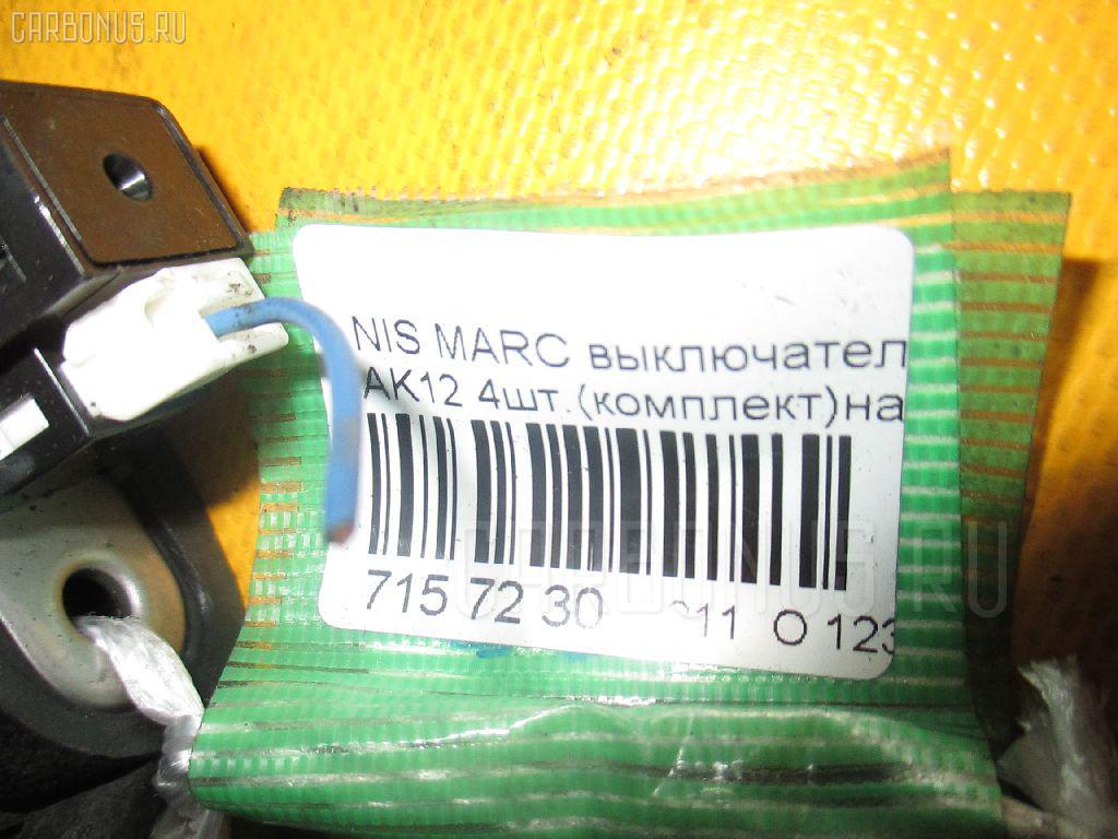 Выключатель концевой NISSAN MARCH AK12 Фото 2