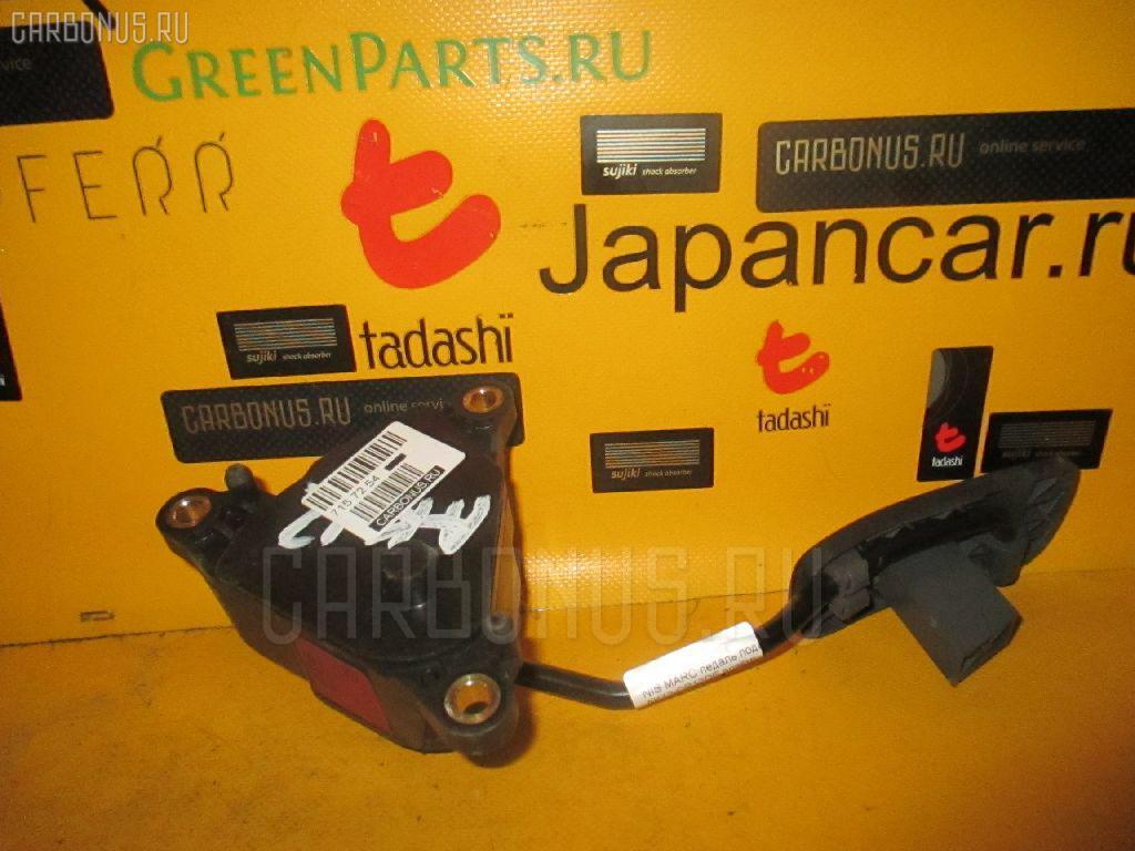 Педаль подачи топлива NISSAN MARCH AK12 CR12DE. Фото 10