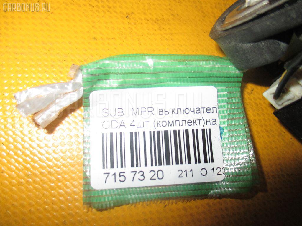 Выключатель концевой SUBARU IMPREZA GDA Фото 2