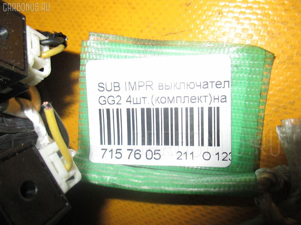 Выключатель концевой SUBARU IMPREZA WAGON GG2 Фото 2