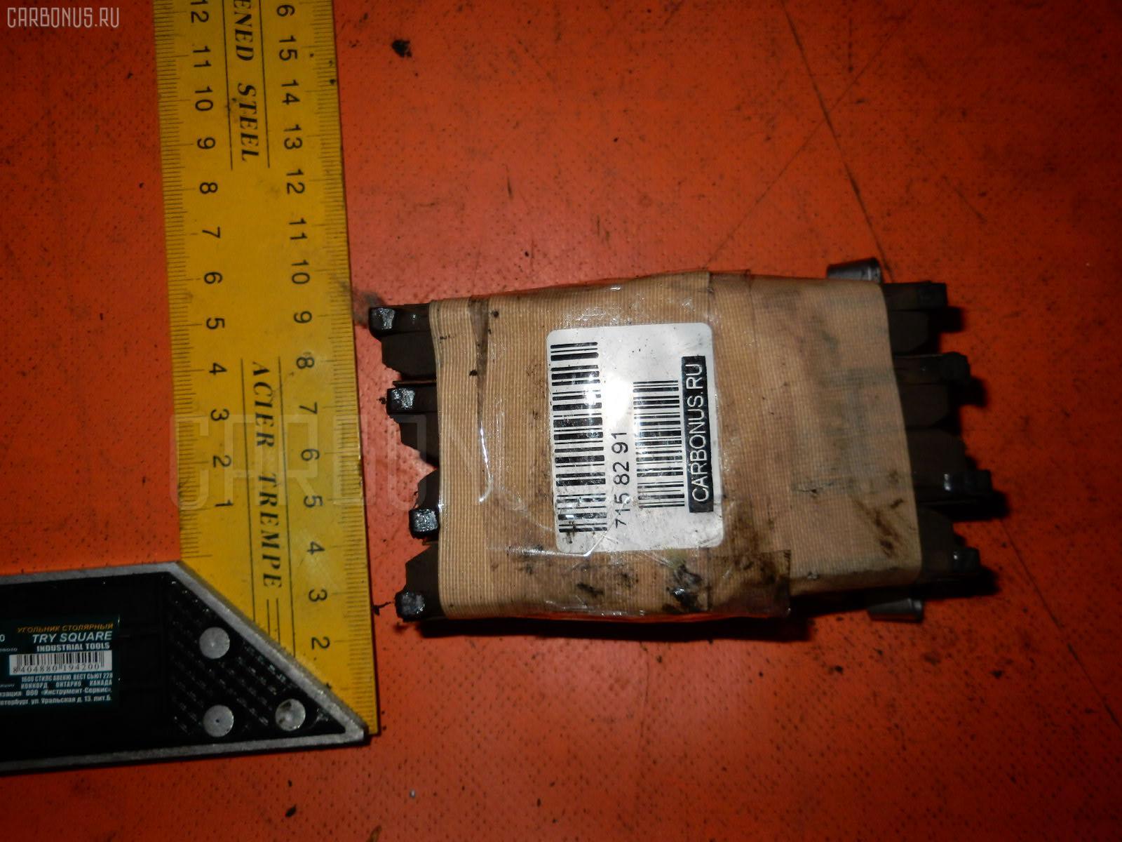 Тормозные колодки SUZUKI SWIFT ZC71S K12B. Фото 3