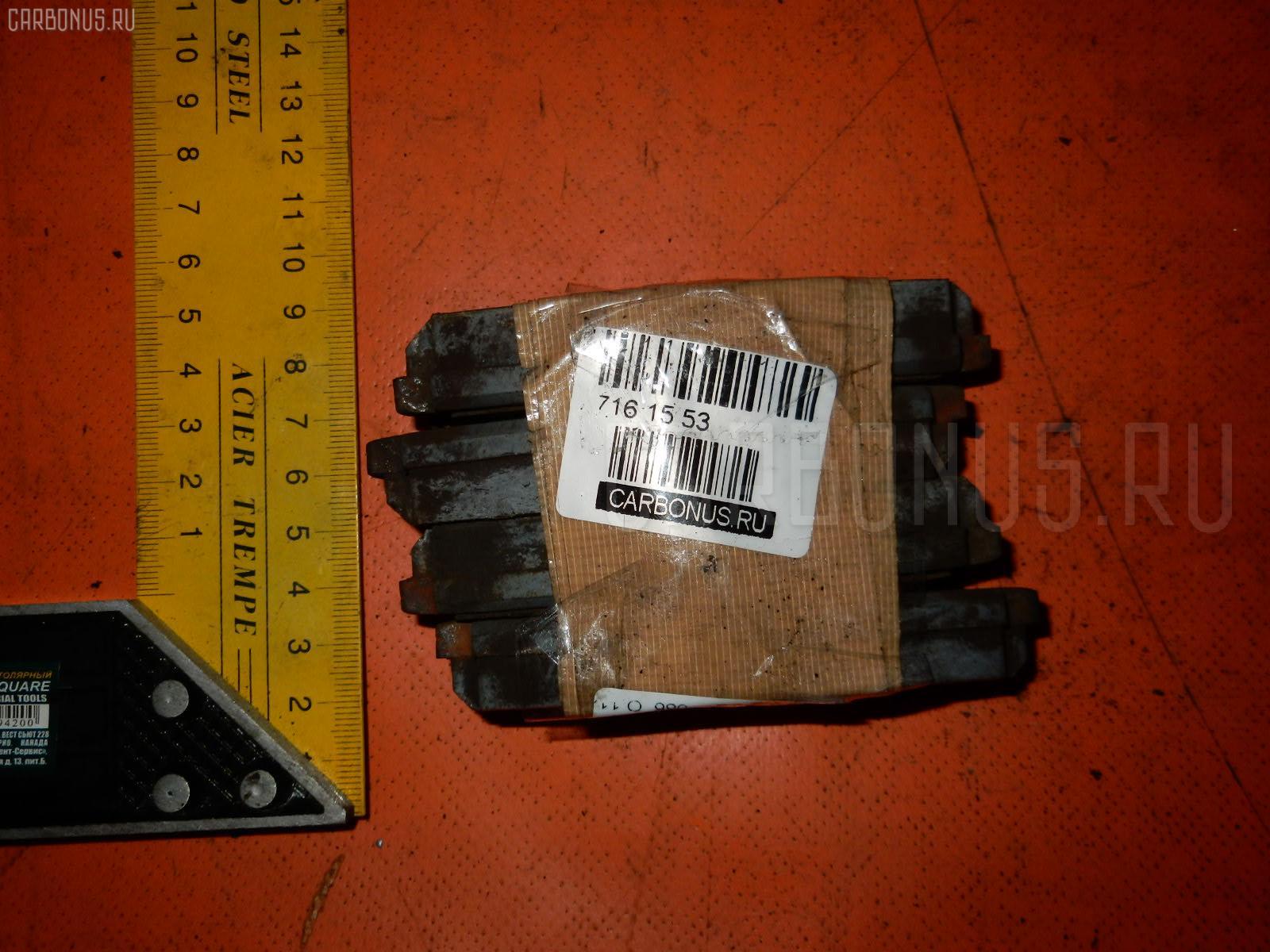 Тормозные колодки NISSAN RASHEEN RFNB14 GA15DE. Фото 2