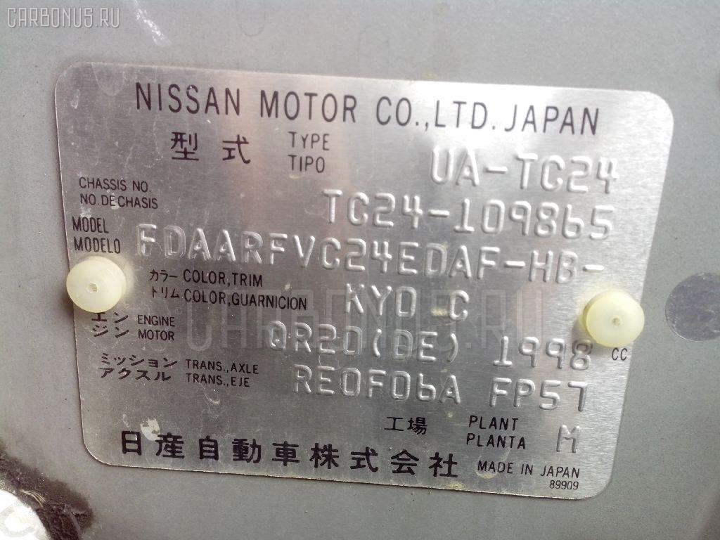 Тросик на коробку передач NISSAN SERENA TC24 QR20DE Фото 2