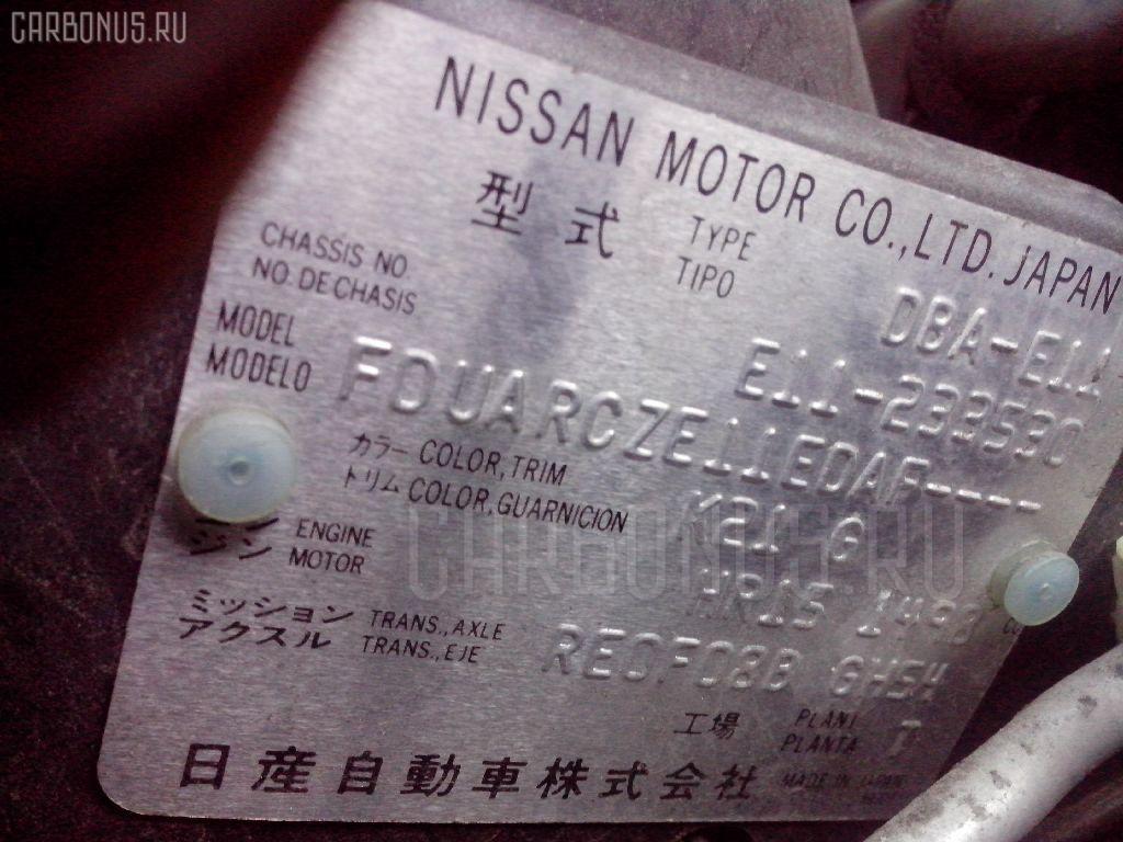 Решетка под лобовое стекло NISSAN NOTE E11 Фото 2